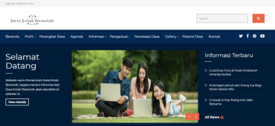 download codeigniter website desa